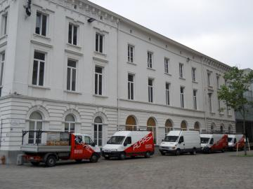 renovatie 3 woningen Sint-Pietersplein (Gent)